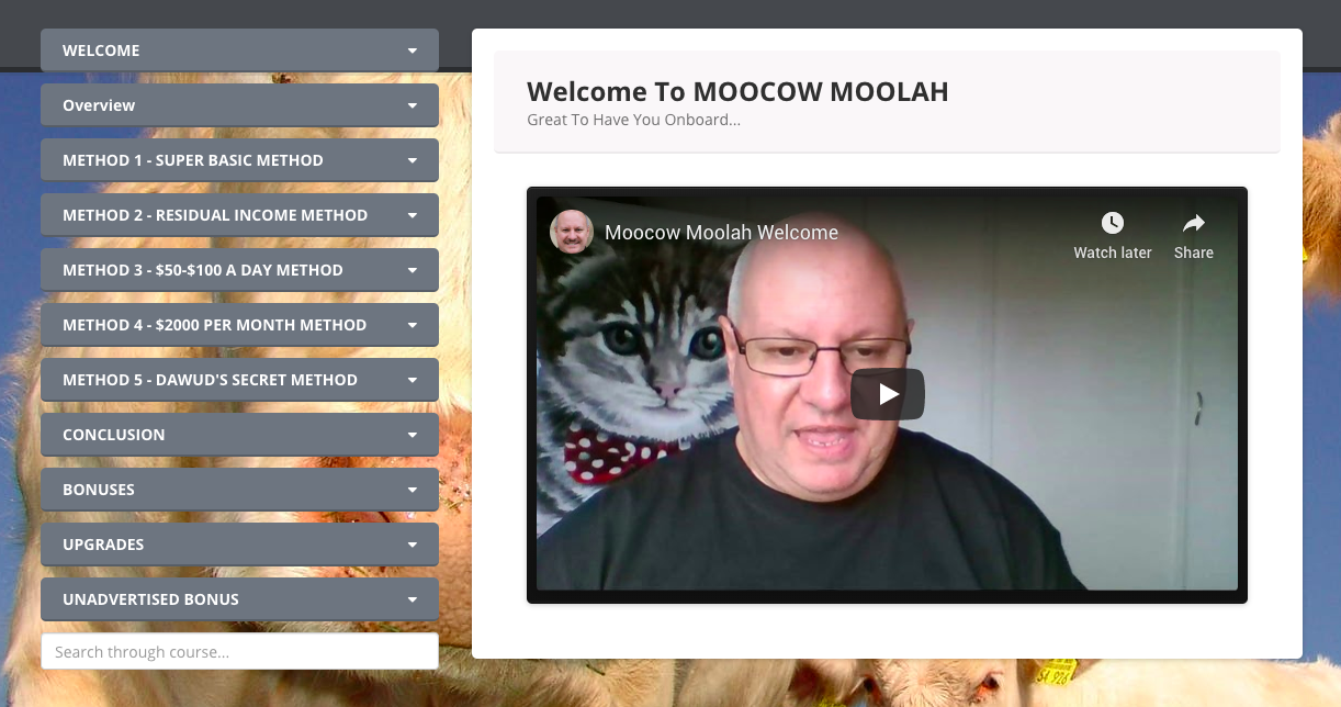 Moocow Moolah Review